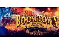 BOOMTOWN FESTIVAL TICKET x1