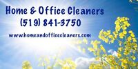 Home & Office Cleaners *Friendly, Reliable Service*