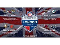 NFL Ticket: Baltimore ravens vs Jacksonville Jaguars 24th September