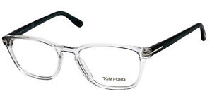 TOM FORD 5355 GLASSES, CLEAR, WORN ONCE
