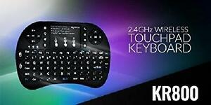 MyGica KR-800 Wireless Full QWERTY Keyboard and Touch Pad for Air Mouse Function and Backlight