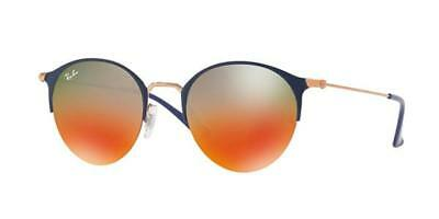 Ray-Ban RB3578 9036A8 Sunglasses Blue/Bronze Frame and Orange Gradient Lenses
