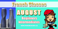 French Classes for August
