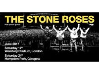 2x Stones Roses Standing tickets