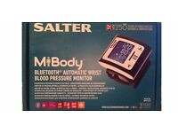 Brand New Salter MiBody Bluetooth Automatic Wrist Blood Pressure Monitor.