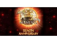Strictly Come Dancing Live Sunday the 29th 1:30 PM 3 Tickets Level 2 Glasgow
