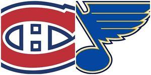 Canadiens reçoivent les Blues de St-Louis