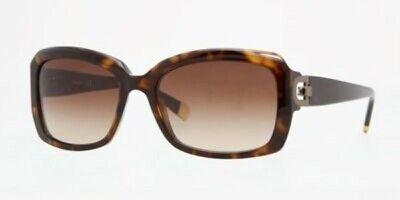 NEW DKNY DY 4073 Sunglasses Tortoise Frame Brown Lens 55-17-130 w/case