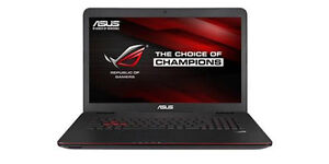 ASUS ROG G771JM Intel Core i7 16GB RAM 750GB GTX860M