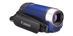 Cannon video Camera (Blue), 16GB SD card & case