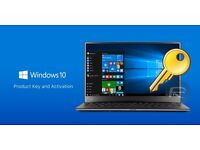 Microsoft Windows 10 Pro 32/64-bit License Key Activation Code - 100% Official & Genuine (£20)