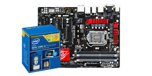 Intel i5 4690k with GIGABYTE Gaming 3 Motherboard and 16GB RAM
