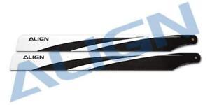 Align Trex 450 L Dominator 360 360mm Carbon Fiber Main Rotor Blades HD360A