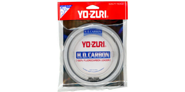 Hd Fluorocarbon Leader Pink 30 Yds Carbon Yo-Zuri Fishing Water Gear Outdoor