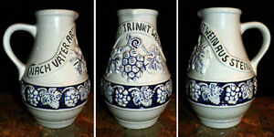 Vintage German Stein Vessel