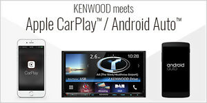 NEW 2017 Kenwood Navigation Double DIN with Android Auto