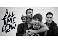 1x ALL TIME LOW TICKET NEWCASTLE O2 ACADEMY SATURDAY 25TH MARCH 2017