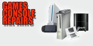 GAMING CONSOLE REPAIR, PLAYSTATION 3 REPAIR, PS4. XBOX ONE, XBOX 360 WII, WIIU, PSP REPAIRS FREE DIAGNOSTICS