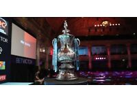 WORLD MATCHPLAY DARTS TICKETS * THE FINAL * BEST SEATS * ROW L * SUN 29 JULY * COLLECT IN BLACKPOOL