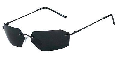 BRAND NEW (1)20861 Agent II Agent Smith Matrix Sunglasses Blk Frame w/Smk Lenses