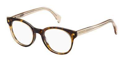 NEW Tommy Hilfiger TH1438 KY119 47mm Havana Beige Optical Eyeglasses Frames