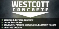 Westcott Concrete ****** NEW FALL SPECIAL ******