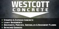 Westcott Concrete ****** FREE ESTIMATES ******