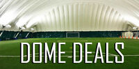 $90 for 90 min Soccer Dome Rental