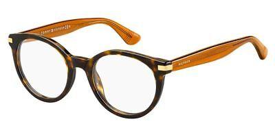 NEW Tommy Hilfiger TH1518 08620 48mm Dark Havana Optical Eyeglasses Frames