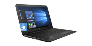 HP Notebook Touch 15-ba020ca (Black)