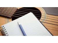 Songwriting lyrics & melody sessions available
