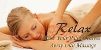 Hour Massage only $65 per hour