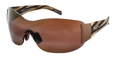 Maui Jim Kula Blendschutz Sonnenbrille polarisierte Gläser braun NEU!