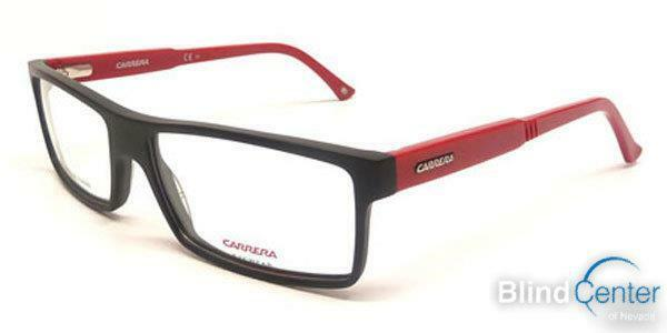 Carrera CA6175 Eyeglasses TPH Matte Black / Red