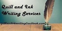 Quill and Ink Writing Services - Resumes and More!