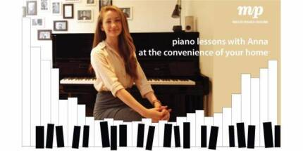 PRIVATE PIANO LESSONS AT YOUR HOME ($40 half hour| $70 an hour)