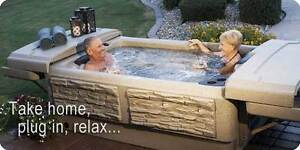 Plug In Hot Tubs by Tuff Spas