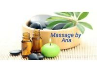 PAMPERING massage**Ana**