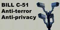 Bill C-51 PROTEST ! 2:00PM 71 Main St West (City Hall)