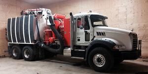2013 Mack Granite Hydro Excavator