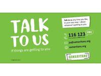 Craigavon Samaritans are recruiting volunteers now