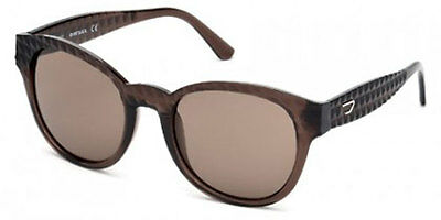 Diesel Women's Sunglasses -DL0045 48E - Brown frame w/ Brown Lens