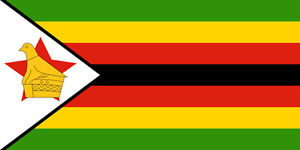 ZIMBABWE FLAG 5FT X 3FT