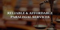 Reliable and Affordable Paralegal Services!