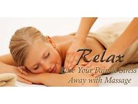 Professional Body/Head/Shoulder Massage.