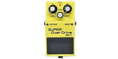 Boss Roland Japan Guitar Effect Pedal Super Over Drive SD-1 Effector