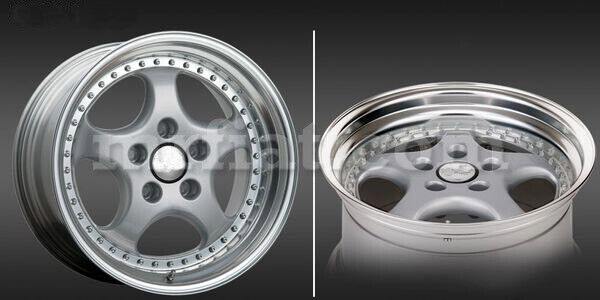 For Porsche 911/964 Tramont Cup1 Rs Speedline Rear Silver Wheel 10x18 New