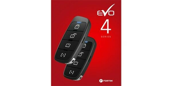 Fortin RFK441 4 Button RF Kit Remote Transmitter Upgrade System For Evo Series
