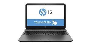 Hp quad core touchscreen laptop
