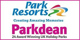 Full time chef at Vauxhall parkdean resorts